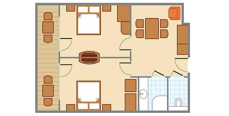 ferien-apartment-zirbe-thermehotel-puchasplus-grundriss